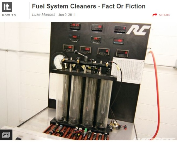 The machinery you really need to clean injectors, as proven by Super Street Magazine. It's the equipment we use, because pour in injector cleaners just don't work!